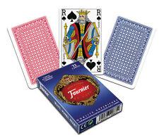 Jeu de cartes plastifiées (32) Fournier Deluxe pour belote, coinche, manille