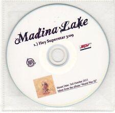 (EH561) Madina Lake, Hey Superstar - 2011 DJ CD