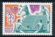TIMBRE FRANCE NEUF N° 1961 ** SPORT TENNIS DE TABLE