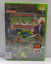 Console Microsoft XBOX PAL ITALIANO TEENAGE MUTANT NINJA TURTLES 2 BATTLENEXUS