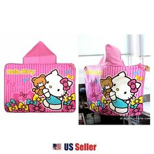 Sanrio Hello Kitty Cape Hooded Ponco Blanket : Pink