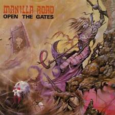 MANILLA ROAD - OPEN THE GATES - REISSUE LP VINYL NEW SEALED 2017