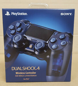 Sony PS4 DualShock 4 Wireless Controller [ 500 Million Limited Edition ] NEW