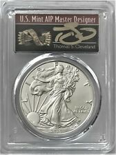 2020(S) SILVER EAGLE SF EMERGENCY ISSUE FDOI PCGS MS70 CLEVELAND SIGNED ARROWS