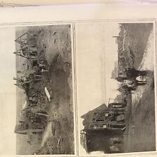 a1g ephemera 1916 ww1 picture western front ruins of combles