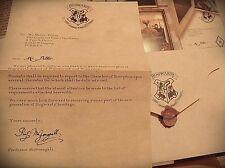 Harry Potter Lettera Hogwarts Personalizzata Regalo