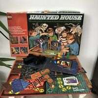 Haunted House Board Game First Edition Denys Fisher Vintage (SPARES OR REPAIR)