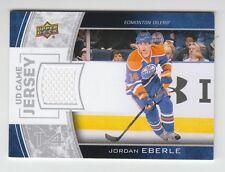 (56908) 2013-14 UPPER DECK GAME JERSEY JORDAN EBERLE #GJ-JE