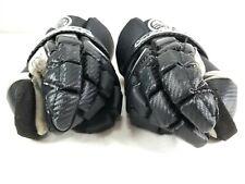 "Maverik M3 13"" Large Lacrosse Gloves Torque Loc Black Green"