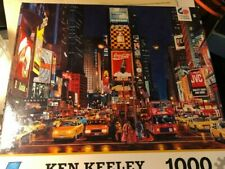 One Ceaco Ken Keeley Hollywood Newstand Jigsaw Puzzle 27 X 20 Inches 1000 Pcs
