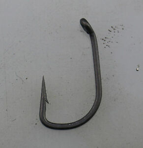 20 x Wide Gape with Straight Point, Teflon Coated Carp Hook, PTFE, Various sizes