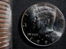 1999-D Denver Mint Kennedy Half Dollar BU