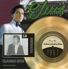 Grenada 2013 MNH Elvis Presley Classic Hits 1v S/S III Music Celebrities Stamps