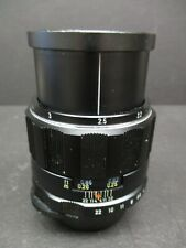 Pentax M42 screw mount SMC 50MM 4.0 macro lens very clean