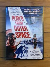 Plan 9 From Outer Space 1959 Ed Wood Passport Video DVD New Sealed