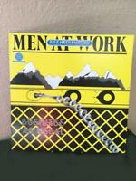 Half Speed Mastered Men at Work Business as Usual LP 1982 + Insert with Lyrics
