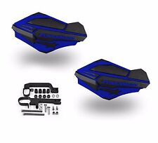 Powermadd Sentinel Handguards Guards Kit Blue Snowmobile Snow Ski Doo Summit