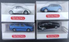 Wiking 4 x VW PKWs ua. Polo HO 1:87 OVP #3218