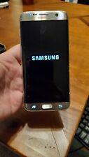 Samsung Galaxy S7 edge SM-G935A - 32GB - Silver Titanium (AT&T)