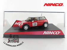 NINCO MINI COOPER ROJO #18 - SLOT SCALEXTRIC - NUEVO