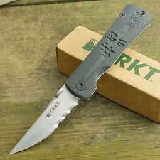 Crkt Heiho Assisted Opening Outburst Linerlock Knife 2901 Veff Serrations