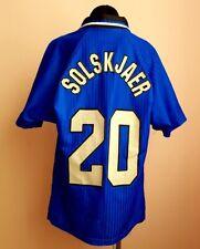 MANCHESTER UNITED 1996 1997 ORIGINAL SOCCER FOOTBALL SHIRT JERSEY THIRD KIDS sZ