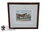 """The Princess"" Horse Landscape Realism Print Dam Nutbourne E. Corbet Harker 19"""