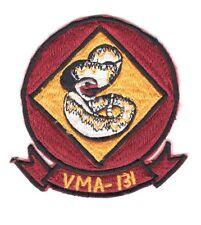 USMC Marine patch:  VMA-131 (Attack Squadron 131) - Philippine made