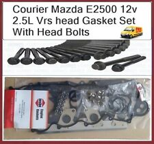 Ford Courier Mazda E2500 12 Valve WL WLT Vrs Head Gasket Set with Head Bolts