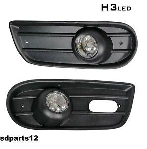 Beleuchtung Scheinwerfer Set LED Mit Gitter Stoßstange Für VW T4 1996-2004