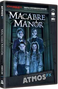 AtmosFX Macabre Manor Digital Decoration Halloween Ghostly Phantasms