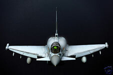 RAF Typhoon Fighter Aircraft Royal Air Force Flying Reprint Photo 12x8 inch