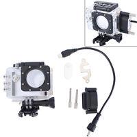 SJCAM Waterproof Cover Protector Case + Charger Motor for Camera SJ5000 SJ5000X