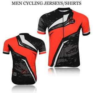 3S Mens Cycling Jersey Half Sleeve Top Cycle Racing Team Breathable Biking Shirt