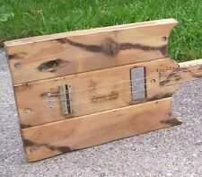 CUSTOM -MADE  TO ORDER  - SWAMP WITCH  3 STRING  CIGAR BOX STYLE SLIDE  GUITAR.