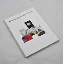 Andreas Fogarasi - Information (Grazer Kunstverein, 2008) Sören Grammel