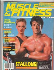 MUSCLE & FITNESS bodybuilding magazine/SYLVESTER STALLONE Rocky Balboa 10-85
