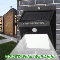 Solar Lampe Wandleuchte mit Bewegungsmelder Lichtsensor Gartenlicht  3