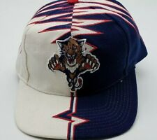 Vintage 90s Florida Panthers Starter Shockwave Hat Cap Slasher