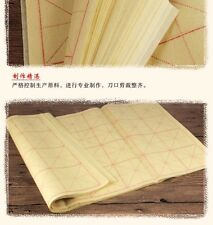 High Quality Chinese/Japanese Calligraphy Grid Rice Paper/Xuan Paper-LG 35sh