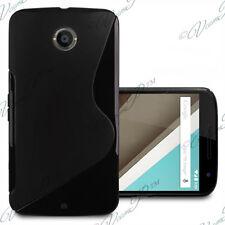 Accessoires Etui Coque Housse TPU Silicone gel NOIR Motorola Nexus 6/ Nexus X