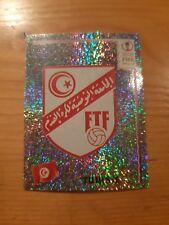 N°567 BADGE LOGO FOIL # TUNISIE PANINI 2002 FIFA WORLD CUP KOREA JAPAN