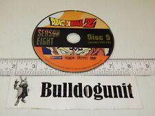 Dragonball Z Season Eight DVD 8 Disc 5 Only Episodes 244-248 Funimation 2007