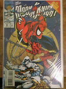 Moon Knight # 57 Stephen Platt Spiderman Infinity Crusade Marvel Direct Edition