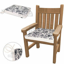 Polyester Floral Patio Chair Seat Pads Furniture Cushions
