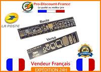 """Règle PCB gabarit composant électronique Arduino 15cm 6"""" transistors Geek Fun"""
