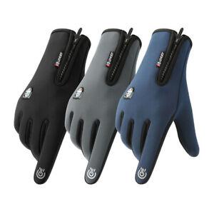 Winter winddichte und warme Fahrradhandschuhe Touchscreen Fahrrad Mountainbike