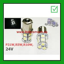 2x Bulbs R5W R10W P21W 24V TRUCK LORRY CAMION CLEARANCE GALIBO POSICION LED