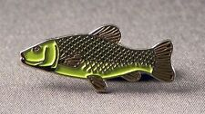 Metal Enamel Pin Badge Brooch Fish Tench Fishing Angler Angling