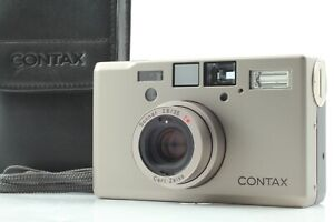 """【TOP MINT w/ CASE】 Contax T3  """"Double Teeth"""" 35mm Film Camera From JAPAN #502"""
